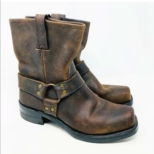 FRYE Men's harness boots